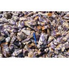"Amethyst (Chevron), large, pure pieces ""XL"", Zambia, 100 kg"