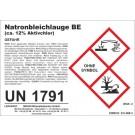 Chlorine lye / sodium chlorine lye, disinfection detergent, 1 l