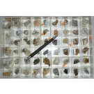 Mixed minerals from Clara Mine, Black Forest, Germany, 1 lot of 52 pieces.