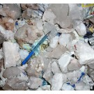 Mountain Quartz, Himalaya-Quartz, crystals off matrix, Himalaya, India, 1 kg
