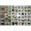 Mixed minerals from Clara Mine, Black Forest, Germany, 1 lot of 51 pieces.