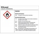 Alcohol, ethyl alcohol, disinfection detergent, technical grade 1 l
