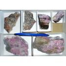 Erythrite, Skutterudite, Cobaltkoritnigite, etc. xls, Richelsdorf, Hessen, Germany, 1 small flat