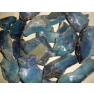 Blue agate (700 year old antic slag) Harz Mtns. Germany (1st choice, blue) 100 kg
