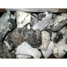 Flintstone (Firestone, black), Heiligendamm, Bad Doberan, Baltic Sea, Germany, 100 kg