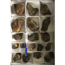 Cacoxenite xx, Beraunite xx etc., Grube Rotläufchen, Waldgirmes, Hessen, Germany, 1 flat