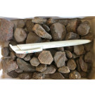 Corundum crstal parts, Erongo, Namibia, 1.24 kg