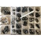 Schorl xls (black tourmaline), Namibia, 10 flats