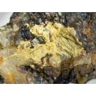 Oxyplumboromeite (Bindheimite); Lucky Cuss Mine, Tombstone, AZ, USA; KS