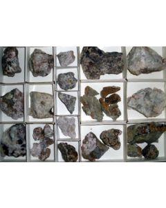 Wismut-Cobalt Erze, Fluorit xx Pöhla, Sa., D., 1 Steige