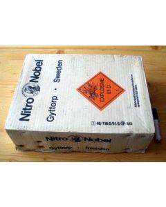 Nitro-Dynamit Nobel, Sprengstoff Karton, 1 Stück (gebraucht)