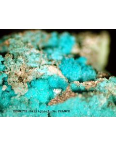 Yvonit xx; Salsigne Gold Mine, Aude, F; MM