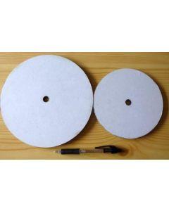Plastik Auflageteller für Schleifscheiben 15 cm