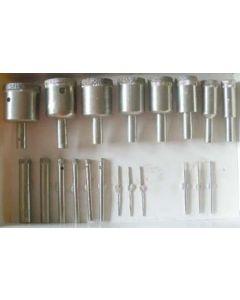 Diamanthohlbohrer, Kopfdurchmesser 24 mm