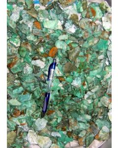 Chrysopras mit Pimelit, kleine Stücke, Szklary, Niederschlesien, PL, 1 kg