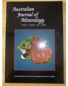 Australian Journal of Mineralogy Vol. 16, #2 2012