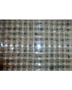 Cobaltomenit xx + Chalcomenit xx etc., Mina el Dragon, Bolivien, 10 MM
