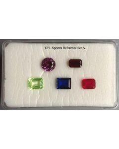 OPL Referenzsteine zur Spektroskopie (Set A)