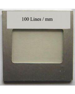 OPL Beugungsgitter mit 100 Linien