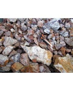 Achat - Amethyst, Schlottwitz, Sachsen, D. 1 kg