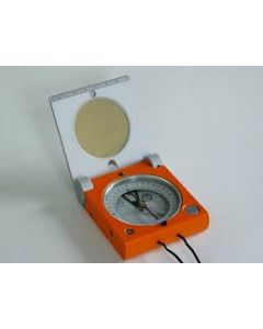 Freiberger Geologenkompass mit Spiegel und Inklinometer (Typ A)