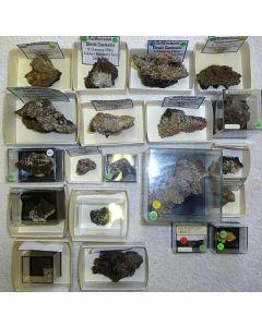 Bultfonteinit xx, N'Chwaning Mine, Südafrika, 1 Partie mit 20 Top-Stücken