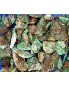 Chrysopras, Schleifware, Polen, 1 kg