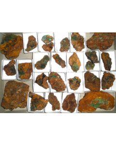 Adamin - (Cu) xx; Serpieri Mine, Kamariza, Laurion, GR; MM