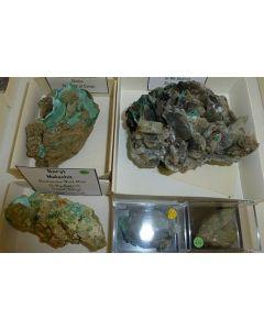 Baryt xx; Mashamba West Mine, Shaba, Dem. Rep. Kongo; NS
