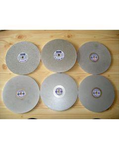 Diamantauflage-Schleifscheibe, 20 cm, Körnung 0400