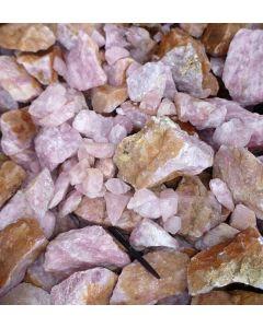 Rosenquarz, Namibia, kleinere Stücke, 1000 kg