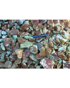 Chrysopras, Tansania, 1 kg