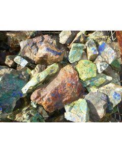 Azurit, Malachit, Morenci, AZ, USA, 1 kg