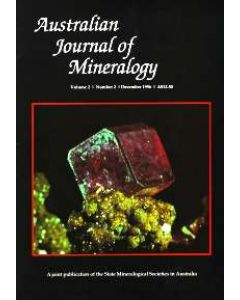 Australian Journal of Mineralogy Abonnement für 2 Hefte inkl. Versand
