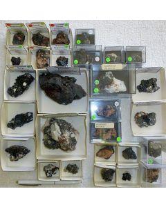 Hausmannit xx; N' Chwaning Mine, Kalahari Manganese Field, Kuruman, RSA; KS