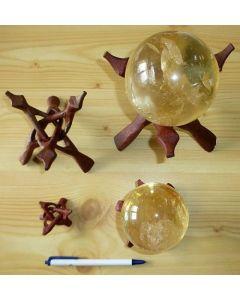 Cobra-Kugelständer aus Holz, faltbar, 20 cm, 1 Stück
