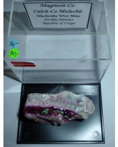 Magnesit - (Co) xx; Mashamba West Mine, Shaba, Dem. Rep. Kongo; NS