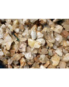 Bergkristall (Lodolith/Schamanenstein), klar in Stücken, Sambia, 100 kg