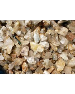 Bergkristall (Lodolith/Schamanenstein), klar, in Stücken, Sambia, 1 kg