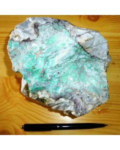 Variscit; Utah Lite Claim, Lucin, UT, USA; KS
