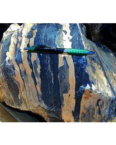 Jaspis, Lagen-Jaspis, bunt, Namibia, 100 kg