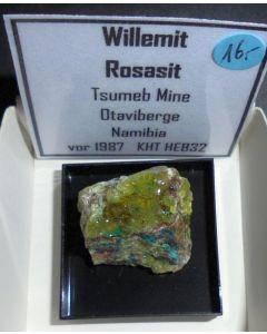 Willemit xx; Tsumeb Mine, Otavi Bergland, Namibia; MM