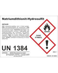 Natrium-Dithionit, Natriumdithionit, Natriumhydrosulfit 1 kg