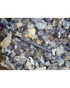 Amethyst, etc. Kristalle, Brandberg, Namibia, 1 kg