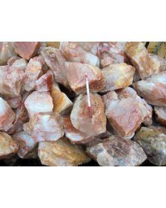 """Eisenkiesel (Hämatoid Quarz, """"Golden Healer""""), Madagaskar, 1 kg"""