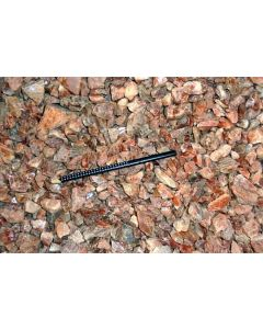 Eisenkiesel (Hämatoid Quarz, gemmy), Madagaskar, 1 kg