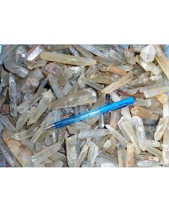 Bergkristall X, klar, klein, Madagaskar, 1 kg