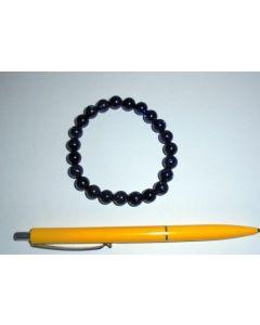 Armband, Blaufluss, 8 mm Kugeln, 1 Stück