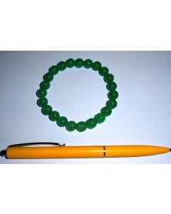 Armband, Aventurin, 8 mm Kugeln, 1 Stück