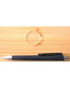 Plexiglassockel 3,5 cm, rund, klar, 10 Stück